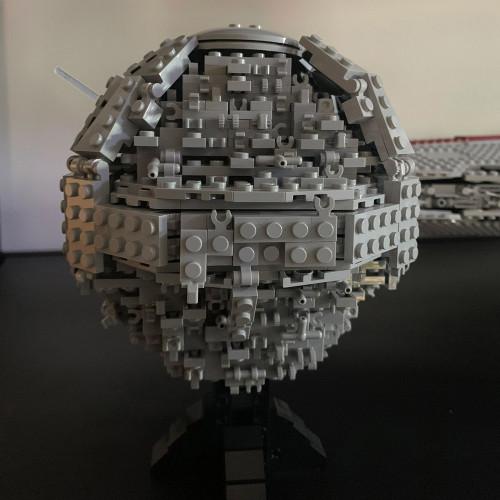 MOC-5505 Death Star II midi-scale