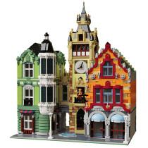 MOC-21266 Modular Clock Tower Square
