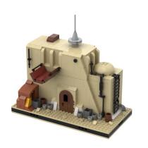 MOC-55496 Desert Junk Store #5 for a Modular Tatooine