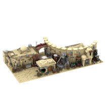 MOC-41406 Mos Eisley Spaceport from A New Hope for LEGO 75257