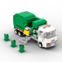 Automated Garbage Truck