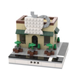 MOC-33896 Coffee Shop for a Modular City