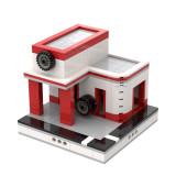 MOC-33928 Garage for a Modular City