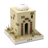 MOC-33390 Desert House #7 for a Modular Desert village