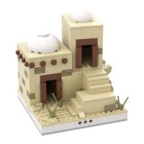 MOC-33385 Desert House #6 for a Modular Desert village