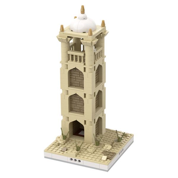 MOC-32623 Desert Tower #2 for a Modular Desert village