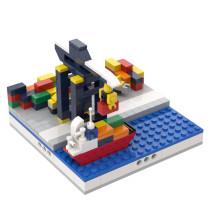 MOC-32491 Mini Port for a Modular City