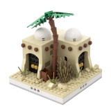 MOC-32629 Desert House #4 for a Modular Desert village