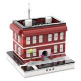 MOC-31589 Red House for Modular City