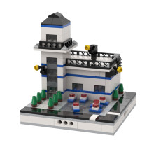 MOC-32986 Police Station for a Modular City