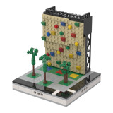 MOC-33939 Climbing Wall for a Modular City