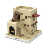MOC-32618 Desert House #3 for a Modular Desert village