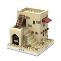MOC-32618 Desert House #3 for a Modular Desert village