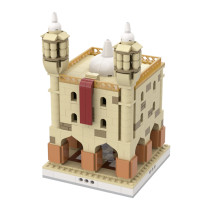 MOC-32573 Desert Temple for a Modular Desert village