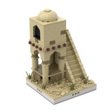 MOC-32543 Desert Tower for a Modular Desert village