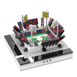 MOC-31488 Mini Soccer Stadium for a Modular City