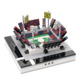 MOC-31488 Mini Soccer Stadium for a Modular City