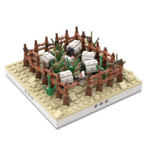 MOC-32627 Herd of sheep for a Modular Desert village