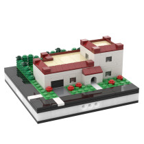 MOC-31631 Private House for a Modular City
