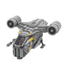 MOC-33566 Mandalorian Razor Crest - Updated Version