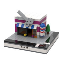 MOC-32089 Barbershop for a Modular City