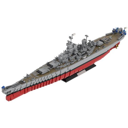 MOC-31764 Iowa-Class Battleship USS Missouri (BB-63)