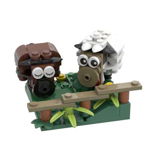 MOC-44733 Sheep (Peace and Love)