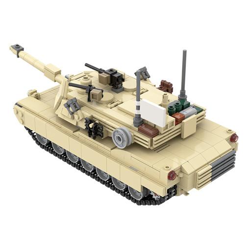 MOC-36237 M1A2 Abrams Tank w/ interior