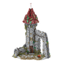 MOC-42261 Castle for the game Dark Souls