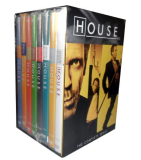 House M.D The Complete Series Seasons 1-8 DVD Box Set 41 Disc