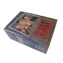 Cold Case The Complete Series Seasons 1-7 DVD Box Set 44 Disc