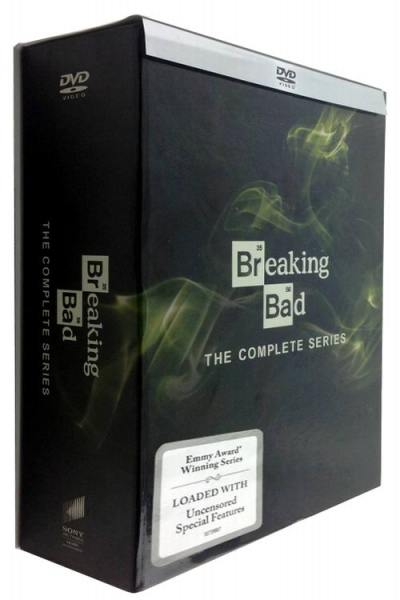 Breaking Bad The Complete Series Seasons 1-6 DVD Box Set 21 Discs