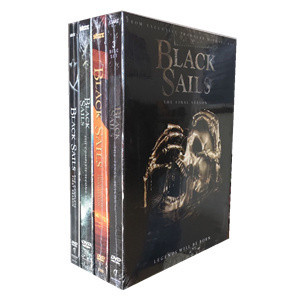 Black Sails The Complete Seasons 1-4 DVD Box Set 12 Disc
