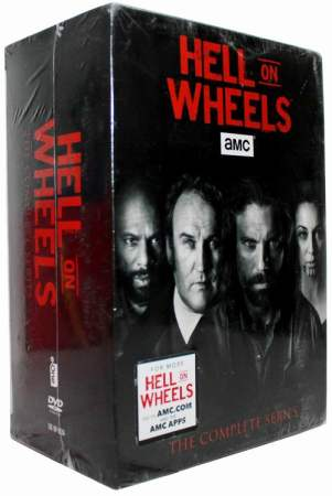Hell on Wheels The Complete Series Seasons 1-5 DVD Box Set 17 Disc