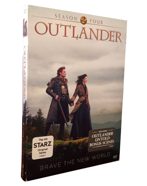 Outlander Season 4 DVD Box Set 5 Disc