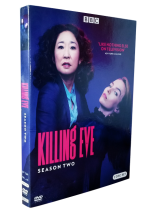 Killing Eve Season 2 DVD Box Set 3 Disc Free Shipping