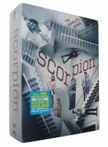 Scorpion The Complete Series Seasons 1-4 DVD Box Set 23 Disc