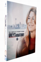 Grey's Anatomy Season 15 DVD Box Set 6 Disc