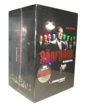 The Sopranos The Complete Series Seasons 1-6 DVD Box Set 30 Disc