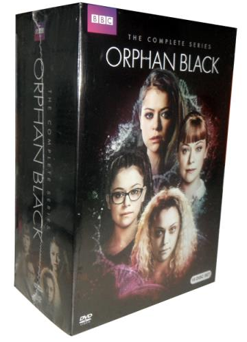 Orphan Black The Complete Series Seasons 1-5 DVD Box Set 15 Disc