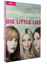 Big Little Lies Season 1 3 Disc DVD Box Set