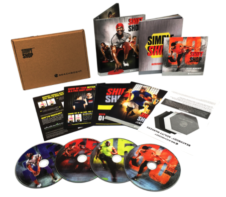 Shift Shop The 3 Week Rapid Rebuild 4 DVD Workout Program Set