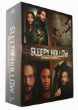 Sleepy Hollow The Complete Series Seasons 1-4 DVD Box Set 18 Disc