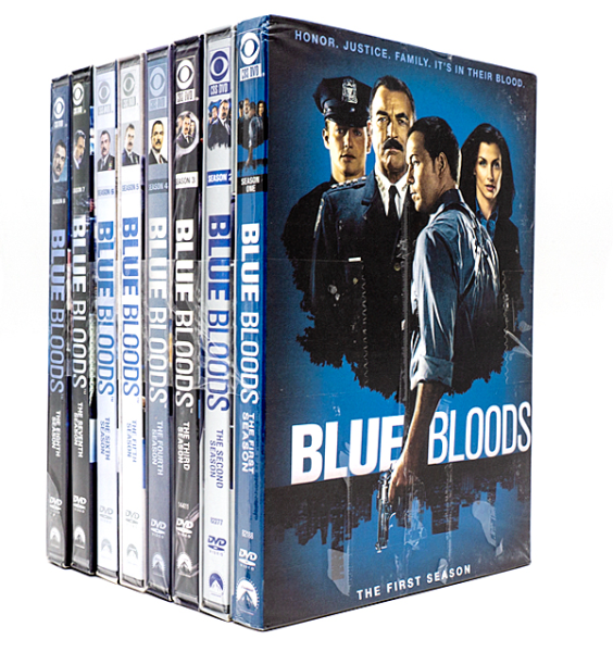 Blue Bloods The Complete Series Seasons 1-9 DVD Box Set 53 Disc