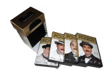 Agatha Christie's Poirot Complete Cases Collection 33 DVD Box Set