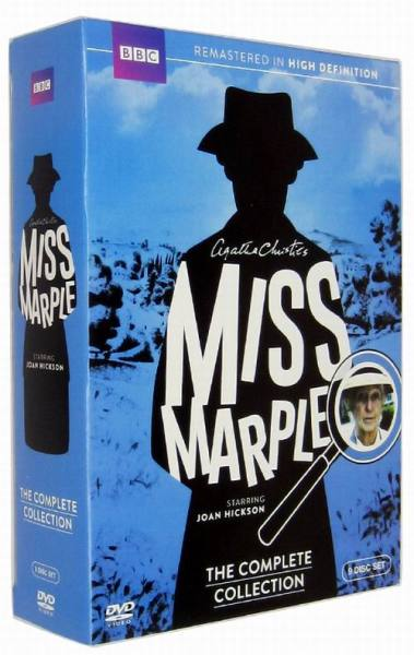 Miss Marple The Complete Collection Seasons 1-3 DVD Box Set 9 Disc