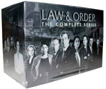 Law & Order The Complete Series Seasons 1-20 DVD 104 Disc Box Set