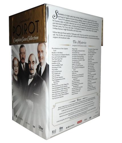 Agatha christie poirot dvd collection