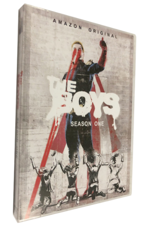 The Boys Season 1 DVD Box Set 3 Disc Free Shipping