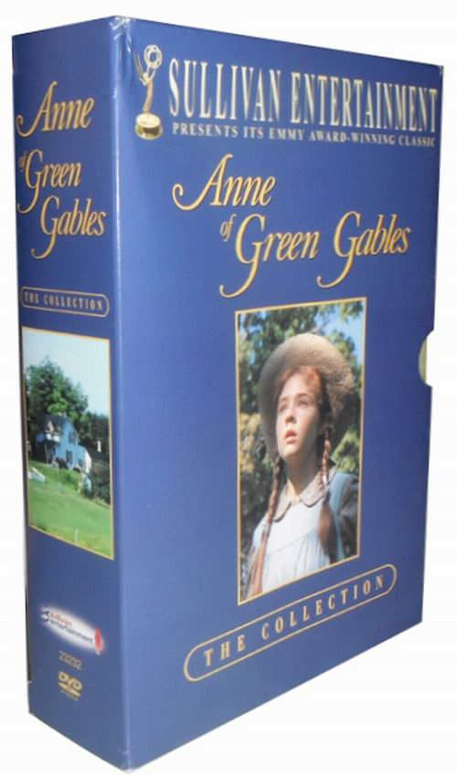 Anne Of Green Gables The Trilogy Collection Dvd 3 Disc Box